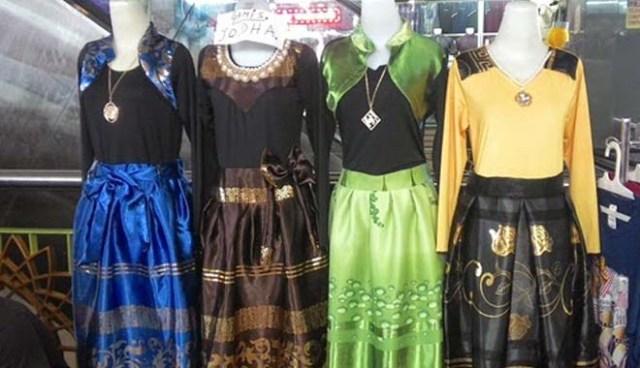 model baju gamis lebaran 2015