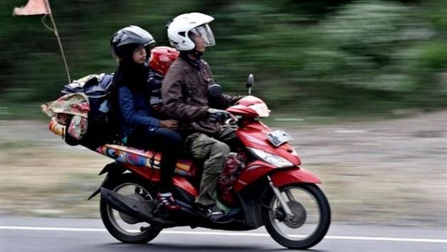 tips mudik dengan motor matik