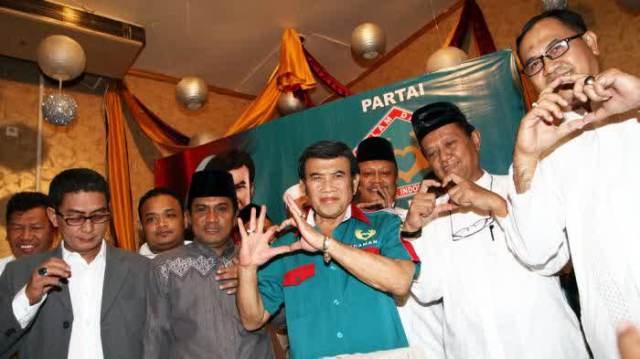 pengurus partai idaman
