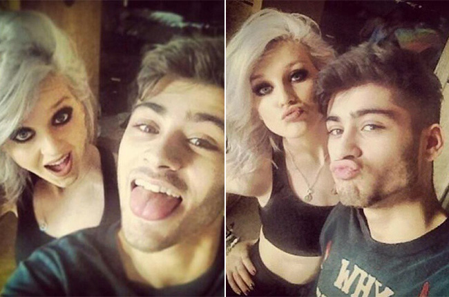 Zayn Malik & Perrie Edwards (doc/billboard.com)