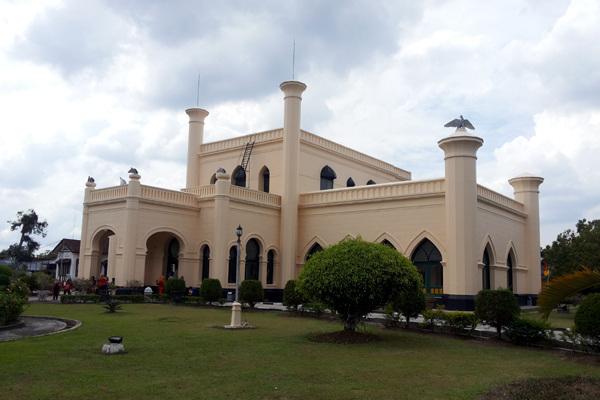 Istana Kesultanan Siak (doc/detik.com)