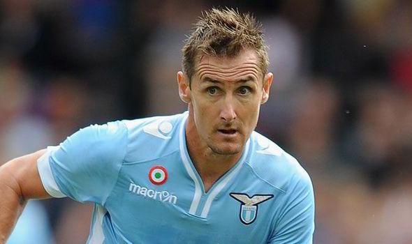 Klose, Andalan Lazio Di Lini Depan