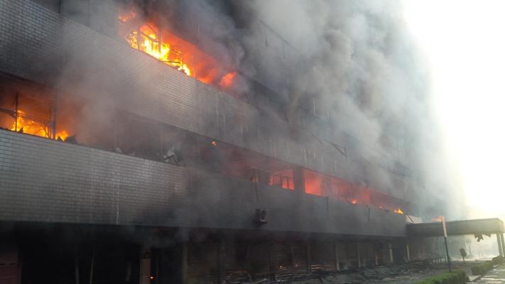 Ini Kronologi Medan Plaza terbakar (doc/okezone.com)