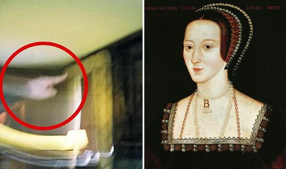 Penampakan Foto Hantu Ratu Anne Boleyn