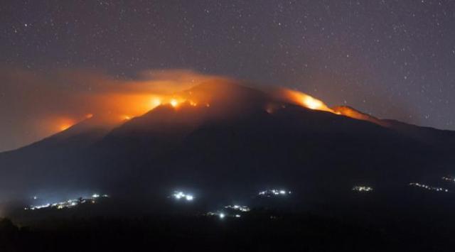 Apa Penyebab Kebakaran Di Gunung Merbabu? (doc/liputan6)