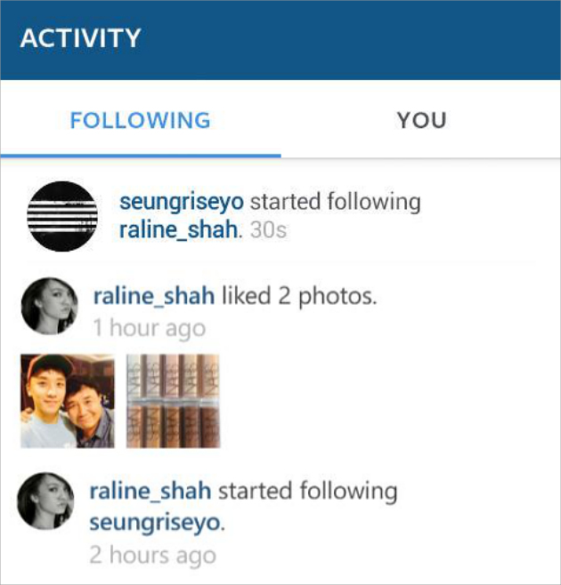 Raline Shah & Seungri (doc/instagram)