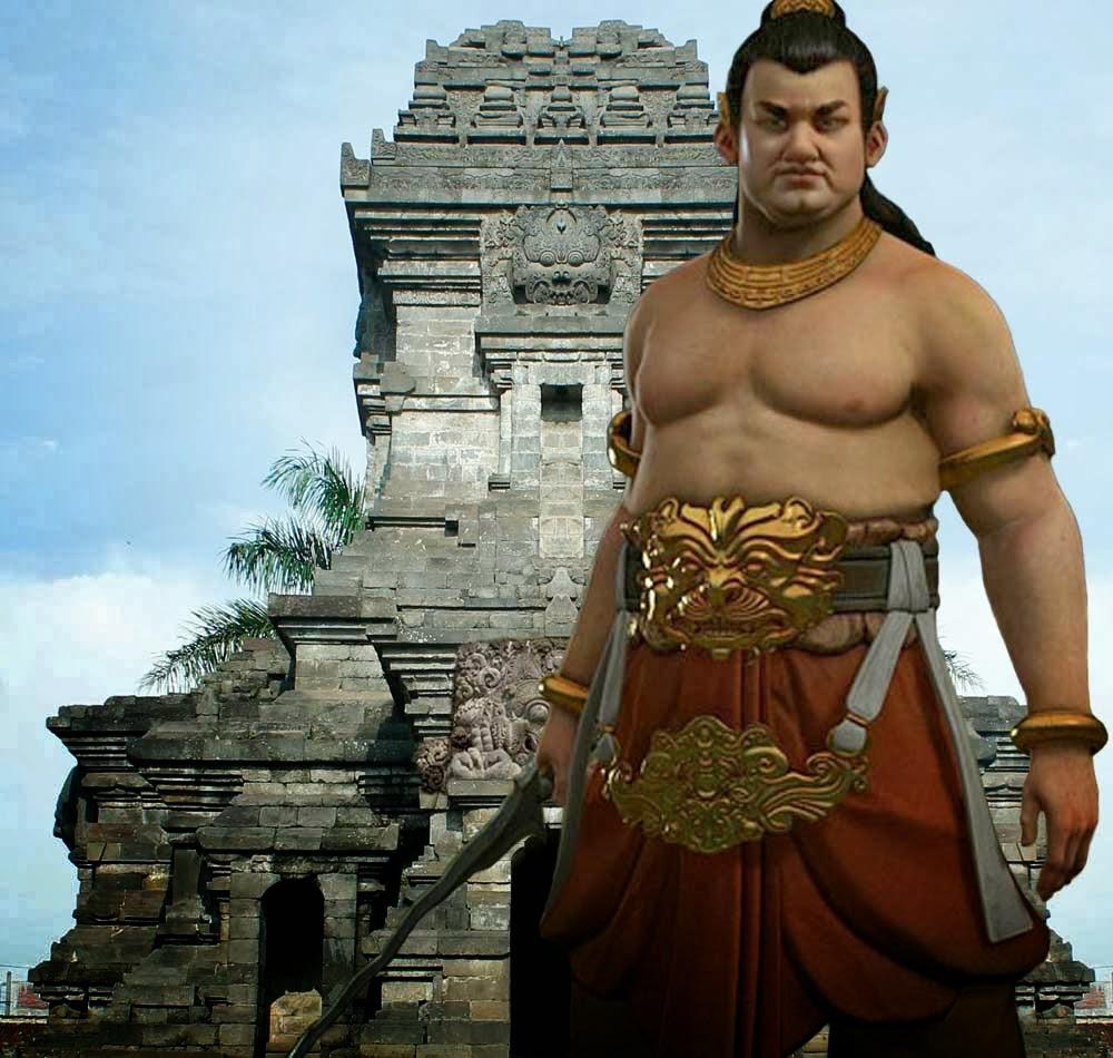 Ilustrasi sosok Gajah Mada