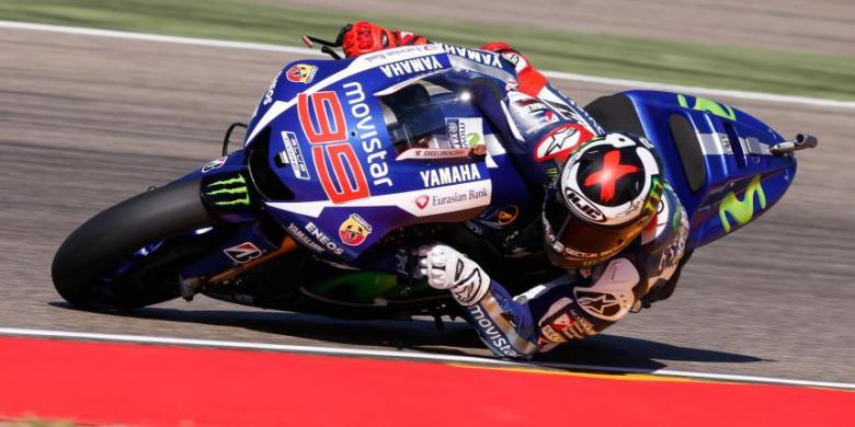 Jorge Lorenzo, Sang Juara MotoGP Aragon 2015