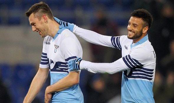Cedera De Vrij Rugikan Lazio [doc/express.co.uk]