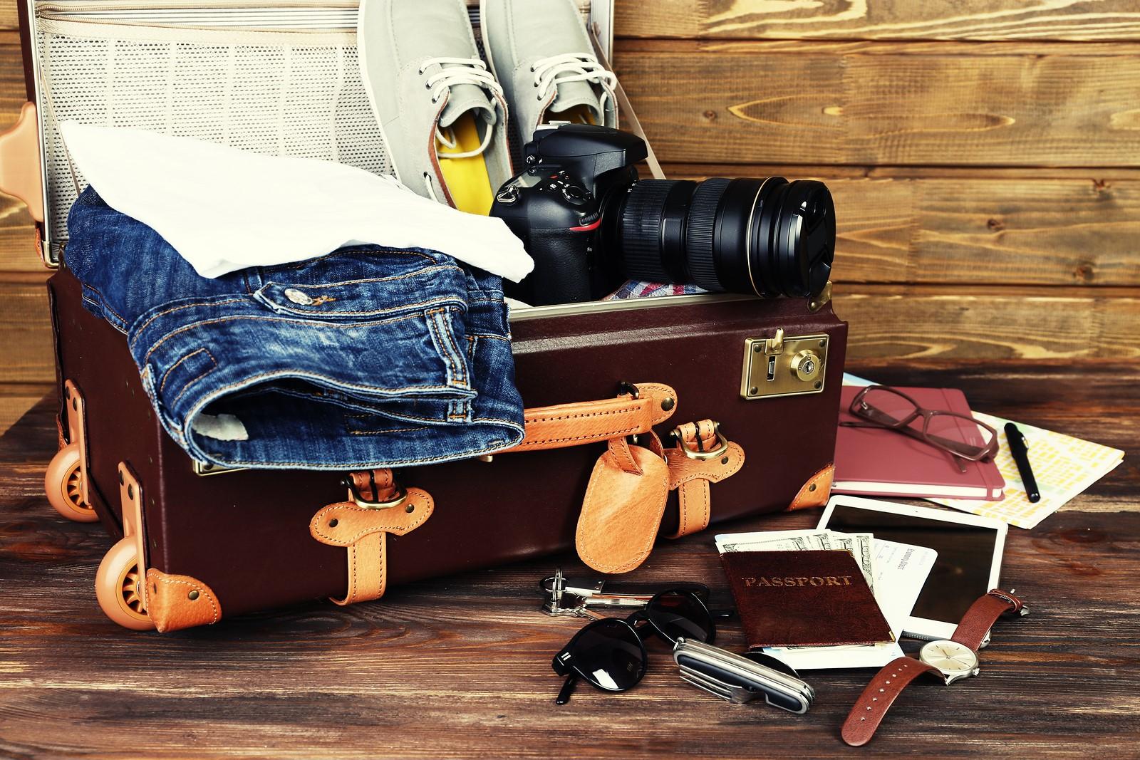 barang bawaan traveling
