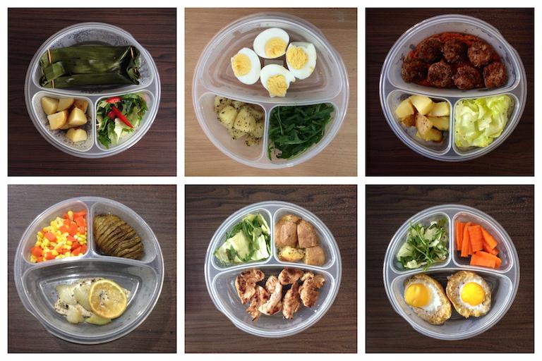 Contoh menu diet mayo