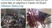 cuplikan video musibah di Masjidil Haram