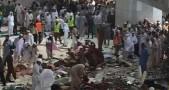 Foto musibah di Masjidil Haram