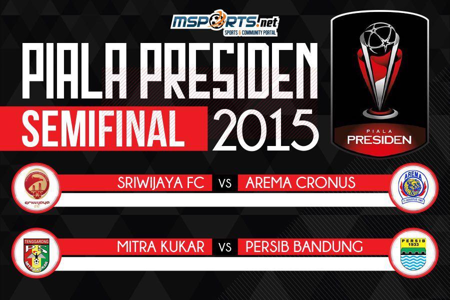 Inilah Jadwal Lengkap Semifinal Piala Presiden 2015
