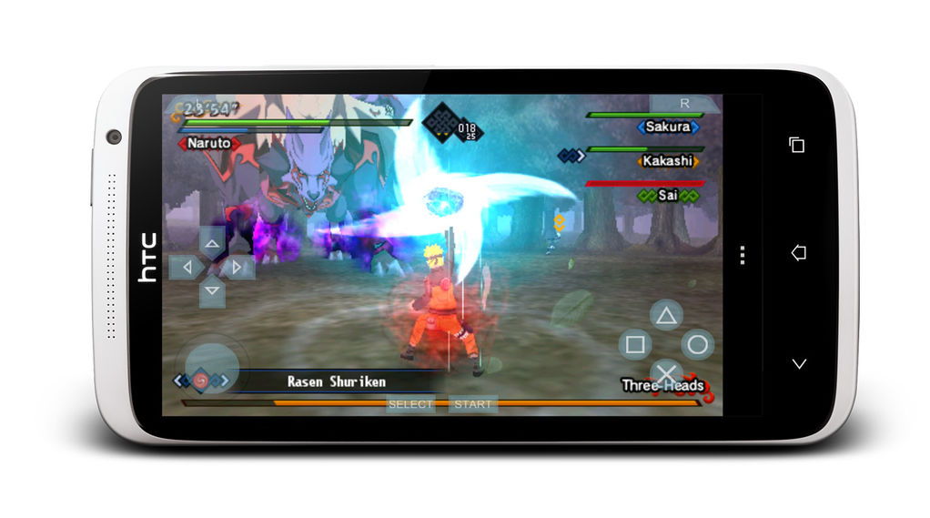 Main game PSP di Android