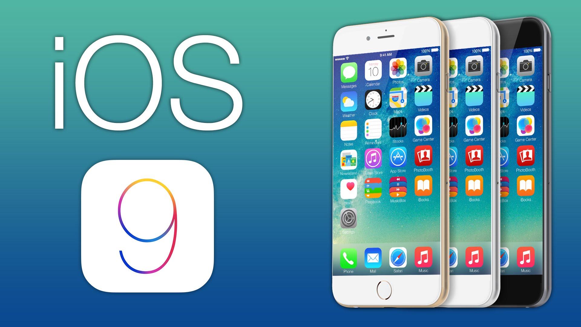 Penampakan iOS 9