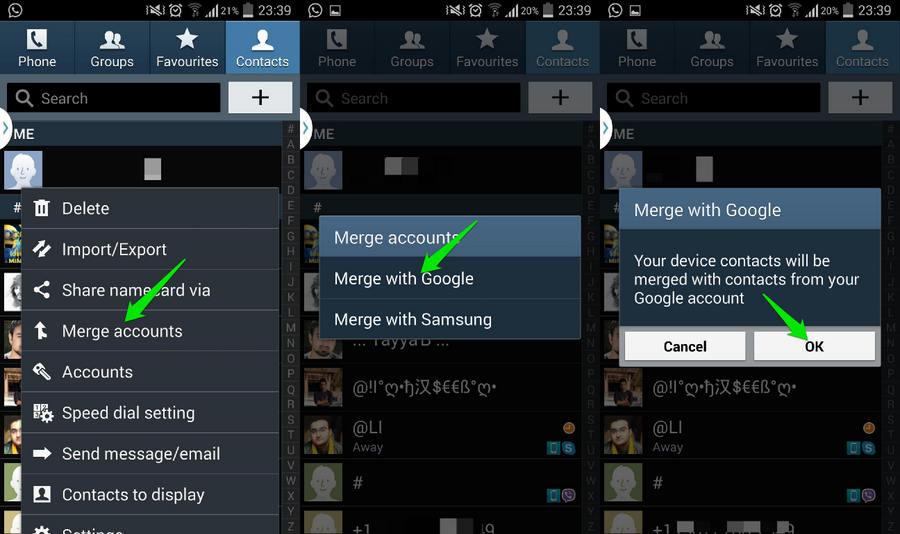 3 cara hapus kontak duplikat di android