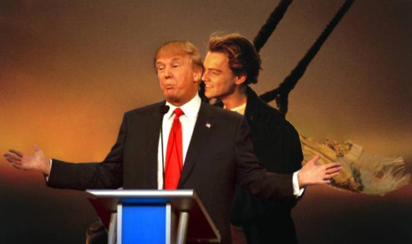 meme donald trump titanic