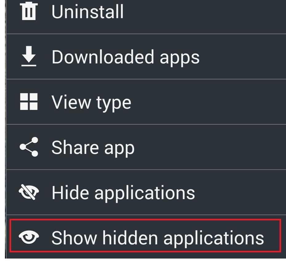 9 langkah menyembunyikan aplikasi di smartphone android