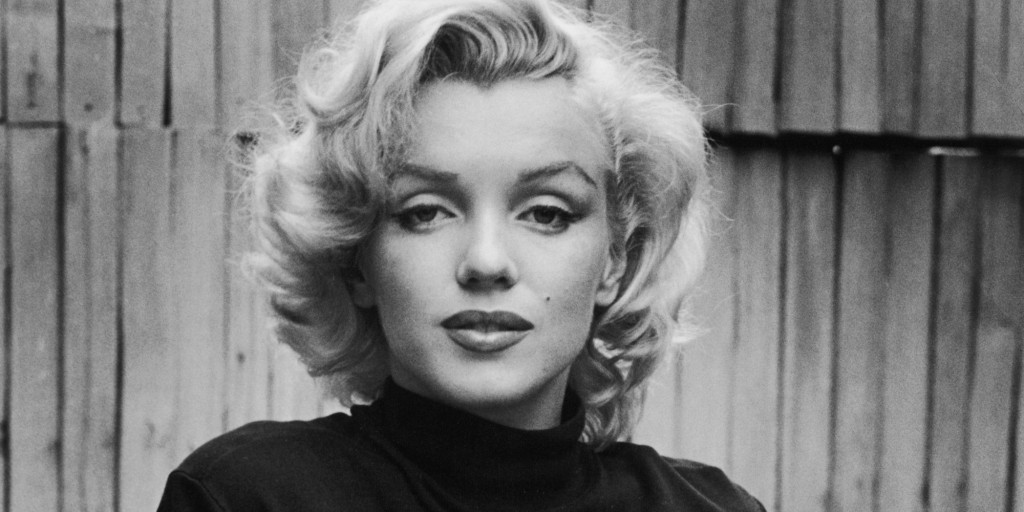 Portrait of American actress Marilyn Monroe (1926 - 1962) as she poses on the patio outside of her home, Hollywood, California, May 1953. (Photo by Alfred Eisenstaedt/Time Life Pictures/Getty Images)