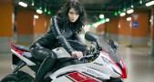 Jaga kulit saat naik sepeda motor