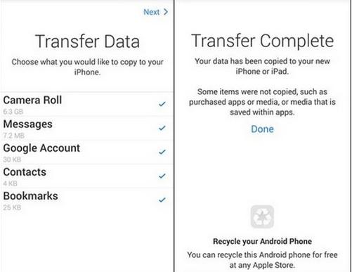 Android ke iOS 3