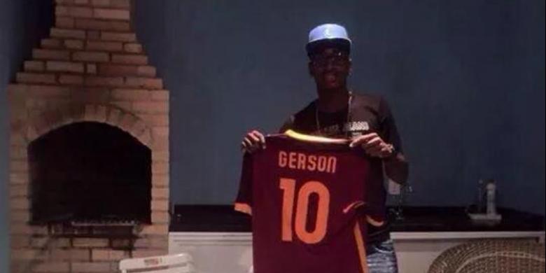 Gerson batal ke AS Roma..?