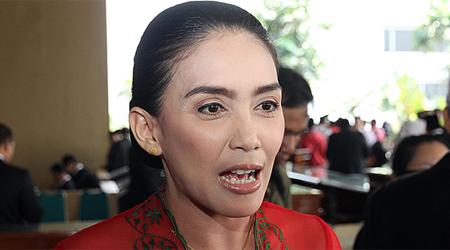 Ketua Panitia Khusus Angket Pelindo II Rieke Diah Pitaloka