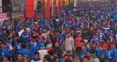 Suasana Final Piala Presiden Persib vs Sriwijaya FC