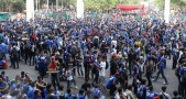 Suporter Final Piala Presiden Persib vs Sriwijaya FC