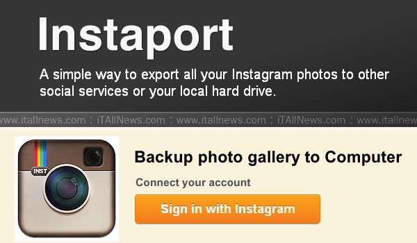 Download foto Instagram di komputer dengan Instaport