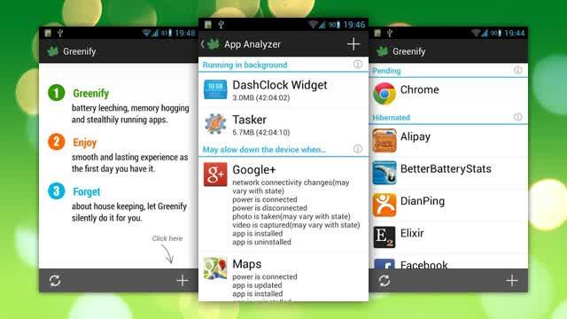 Greenify, aplikasi penghemat baterai smartphone
