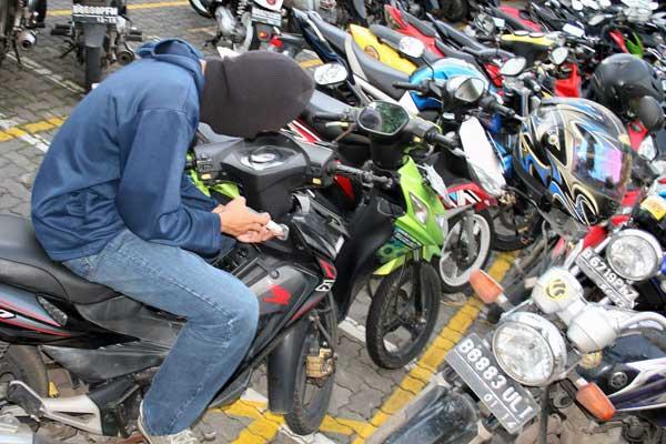 5 tips aman dari pencurian sepeda motor