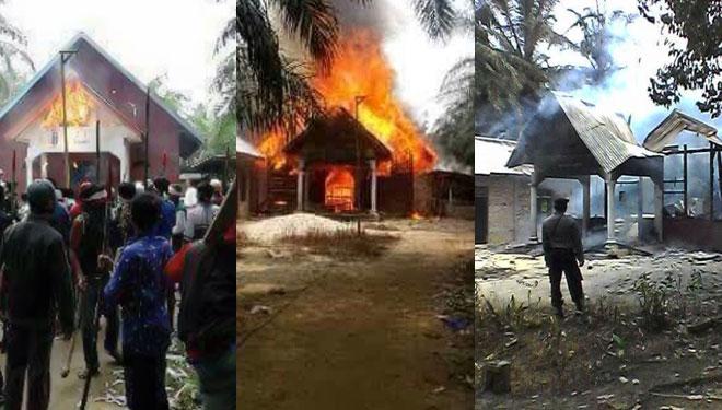 [foto ilustrasi] ini penyebab kerusuhan aceh singkil