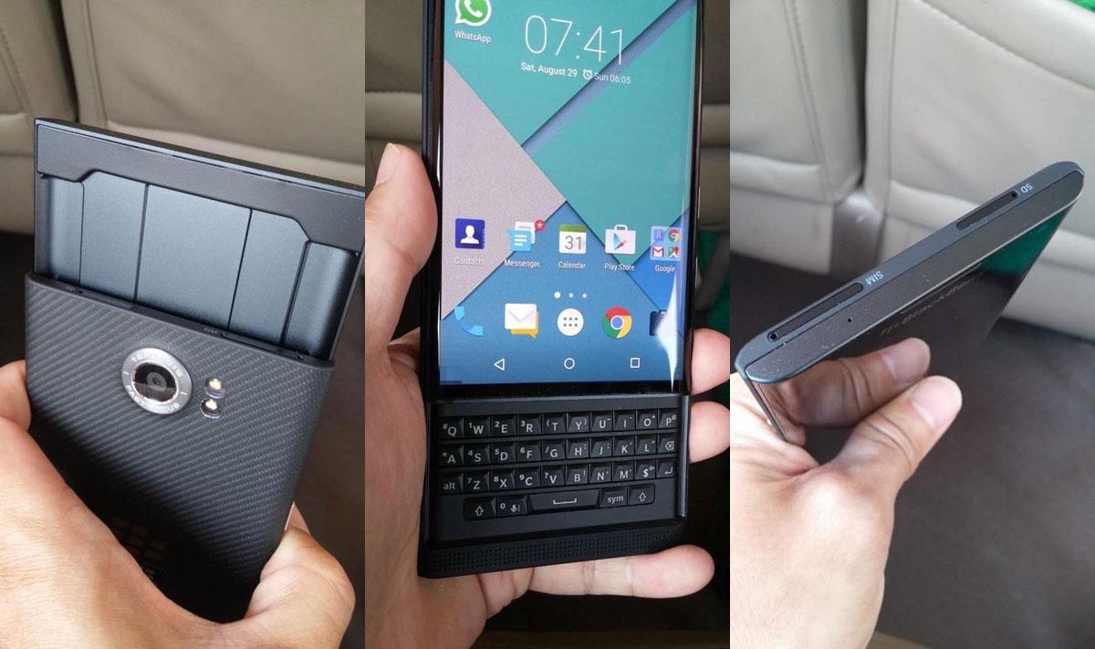 Inilah spesifikasi layar Blackberry Priv