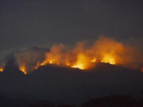 Penyebab pendaki gunung lawu terbakar
