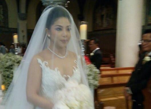 Foto pernikahan Dwina, anak Setya Novanto