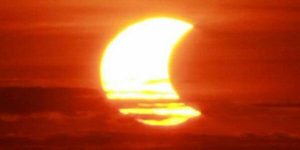 5 Kota Besar Gerhana Matahari Sebagian