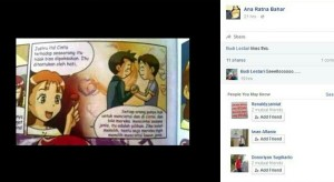 Penampakan komik LGBT untuk anak-anak