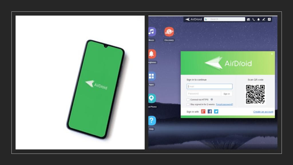 Menampilkan Layar Handphone ke Laptop dengan Airdroid-min