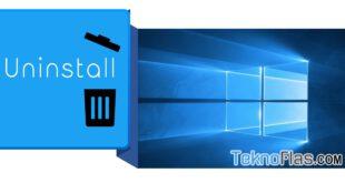 cara membersihkan sisa uninstall software di windows