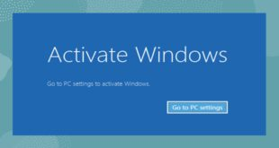 cara menghilangkan tulisan activate windows go to settings to activate windows