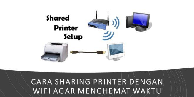 cara sharing printer dengan wifi