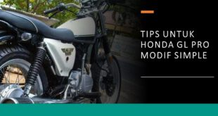 honda gl pro modif simple